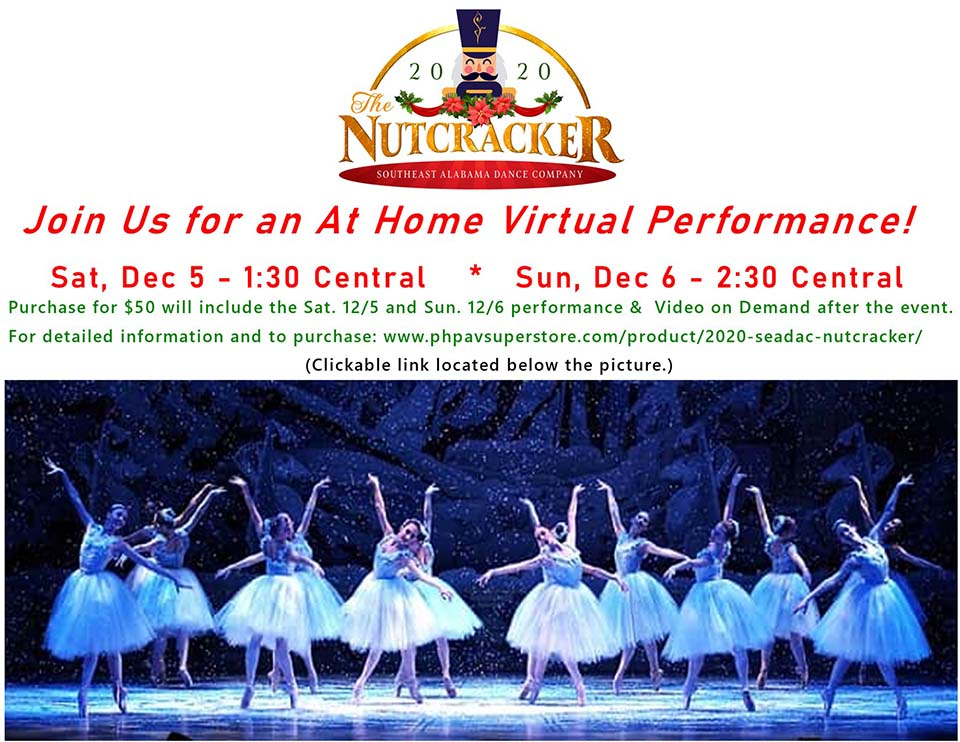 2020 SEADAC Nutcracker Live Streaming